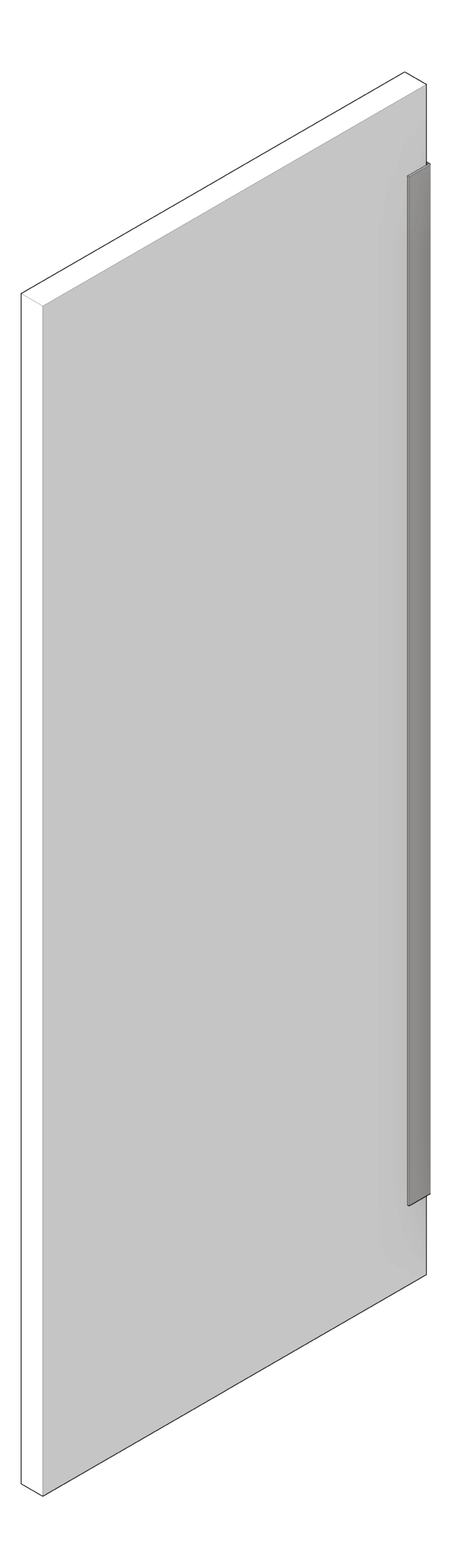 UrinalScreen_WallHung_AccuratePartitions_PowderCoatSteel_3D Shaded