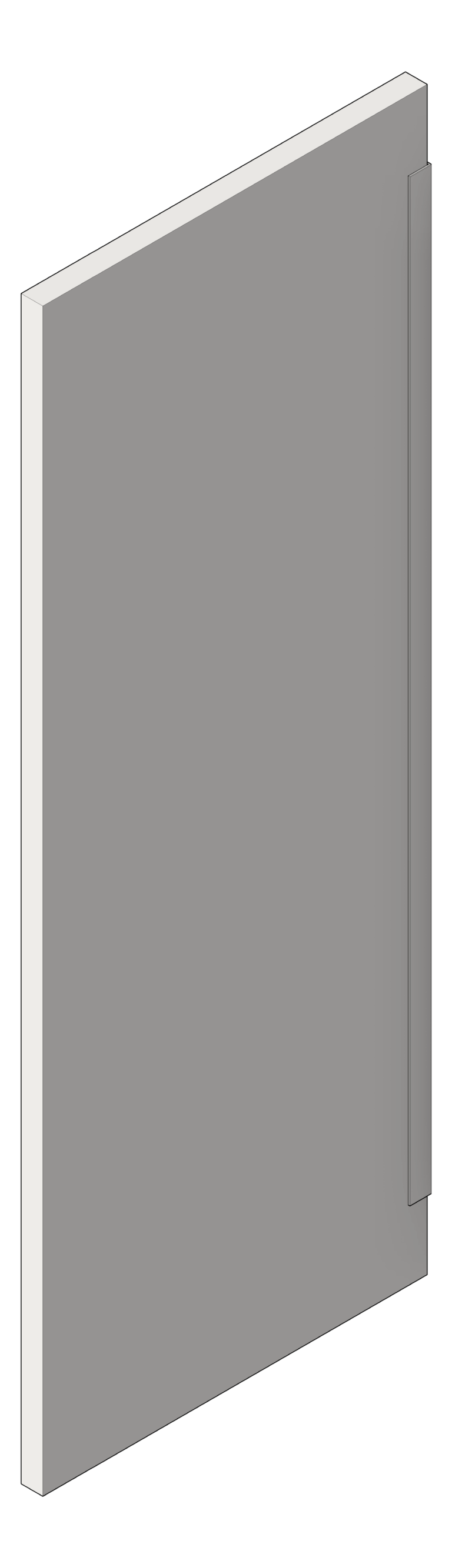 UrinalScreen_WallHung_AccuratePartitions_StainlessSteel_3D Shaded