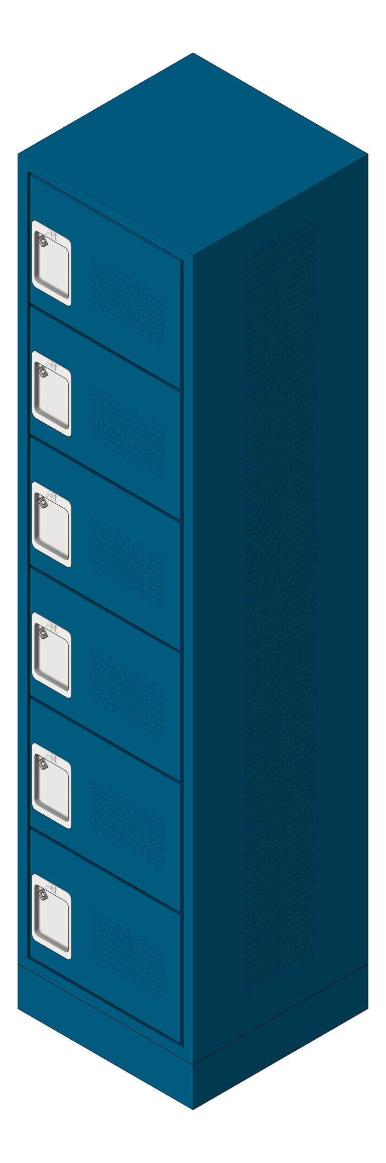 Locker_Metal_ASI_Competitor_SixTier_3D Shaded