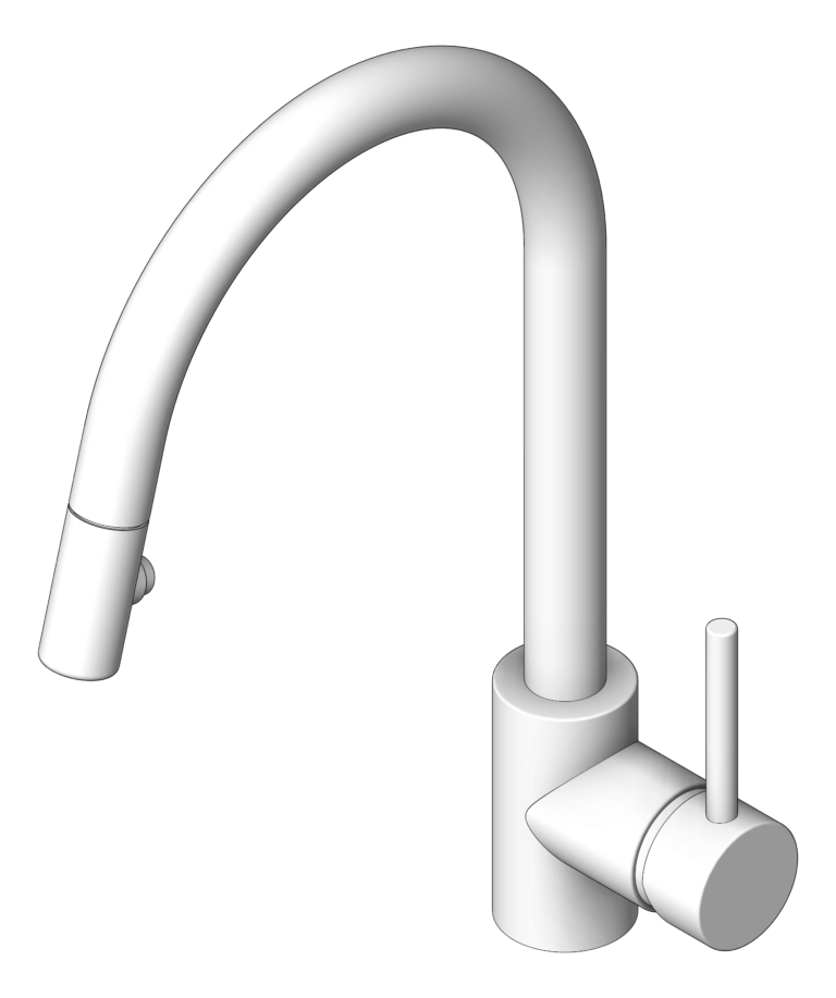 Mixer_Sink_Abey_Lucia_PullOutSpray_3D Shaded