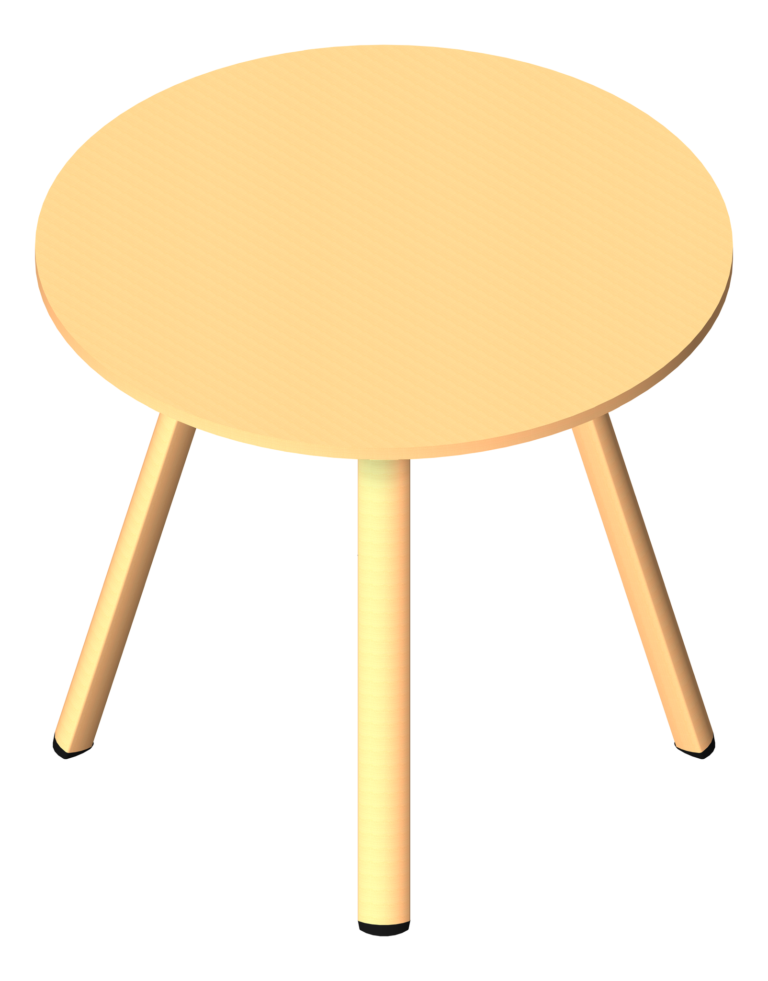 Table_Round_AspectFurniture_Sector_Standing_3D Presentation