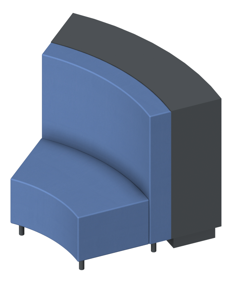 Shelving_Library_IntraSpace_Wave_3Tier_Seating_3D Presentation