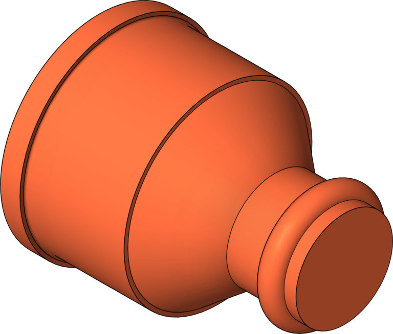 KemPress_ReducerConnector_MMKembla_Copper_Large_3D Shaded