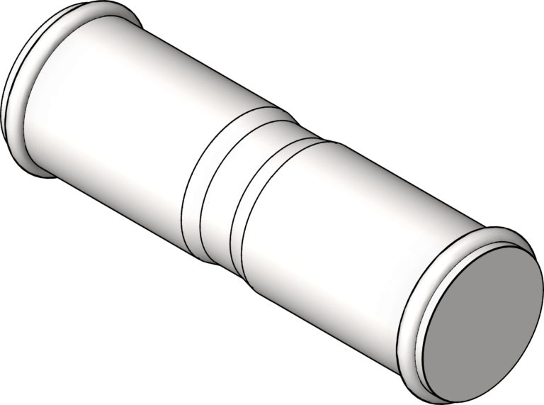 KemPress_Coupling_MMKembla_Stainless_3D Shaded