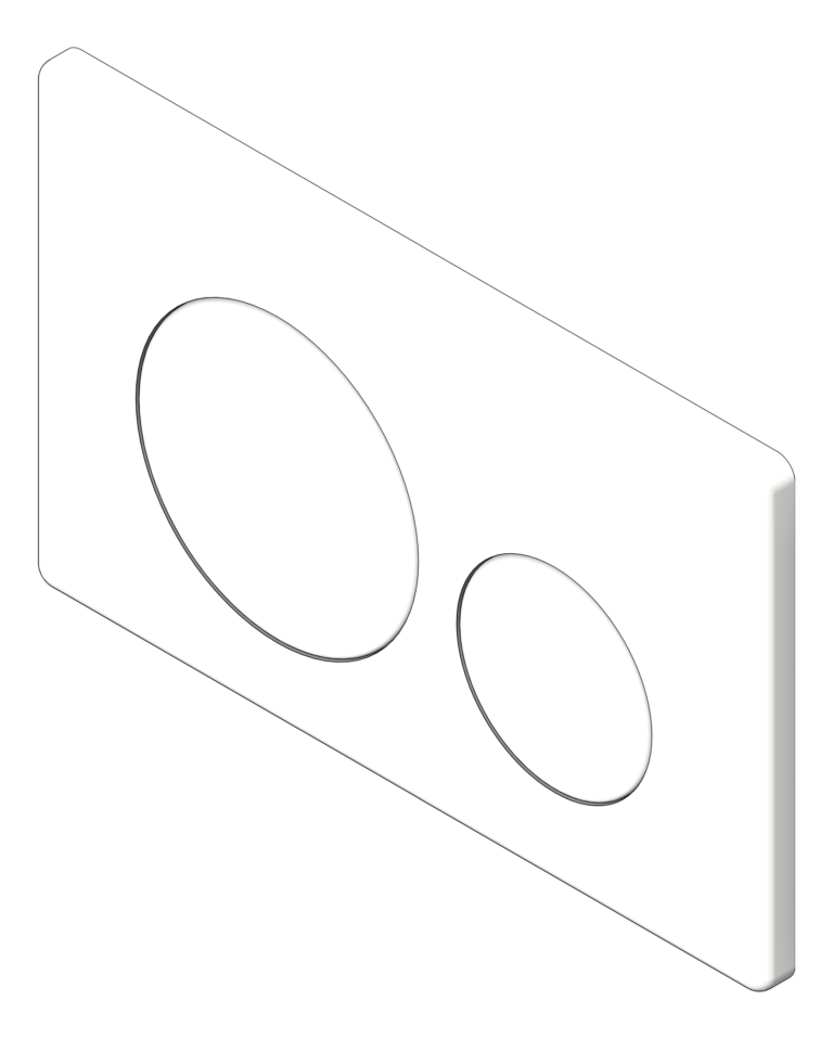 PushPlate_Wall_Oliveri_Round_3D Shaded