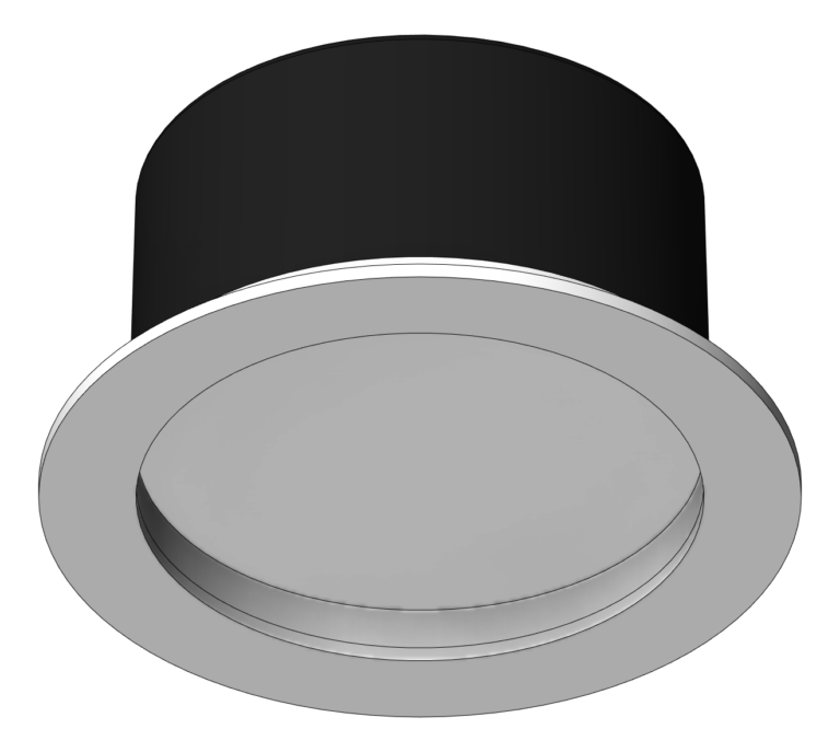 Lighting_CeilingRecessed_Unios_ApexFixed_Large_3D Shaded