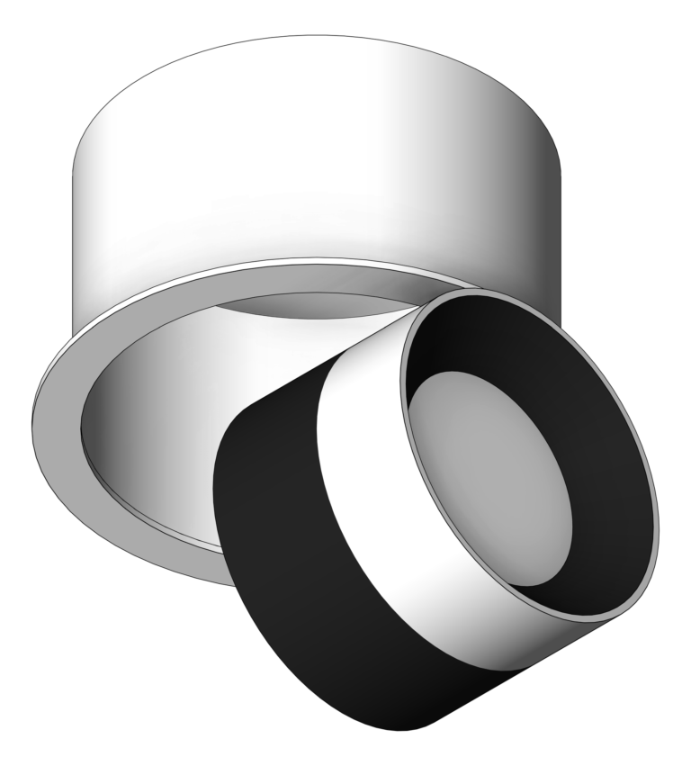 Lighting_CeilingRecessed_Unios_Switch_Large_3D Shaded